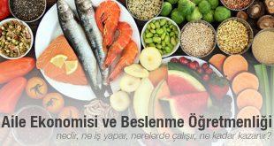 Aile Ekonomisi ve Beslenme Öğretmenliği